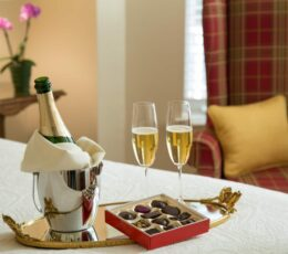 Romance Special - Champagne and Chocolates
